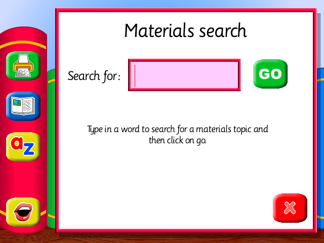 The Learner's Library: Materials