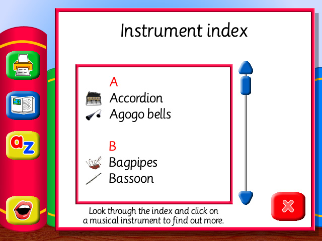 The Learner's Library: Musical Instruments