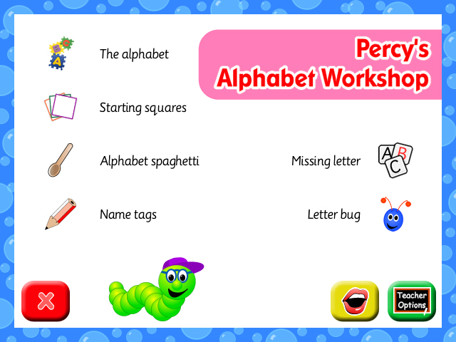 Percy's Alphabet Workshop