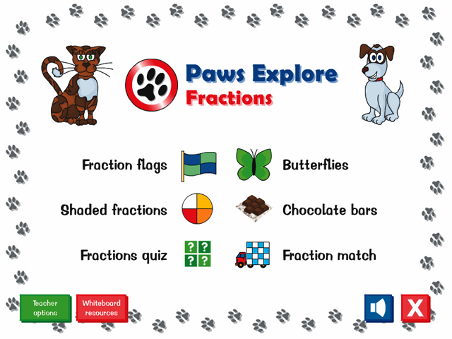 Paws Explore: Fractions