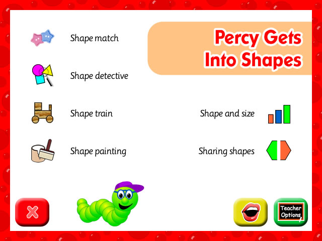Percy Gets Into Shapes
