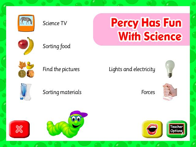Percy Has Fun With Science