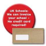 UK Schools: We can invoice your school - No credit card required